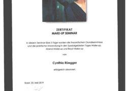 Zertifikat-Makeup