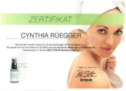 Zertifikat-Rolf-Stehr-Aknebehandlung